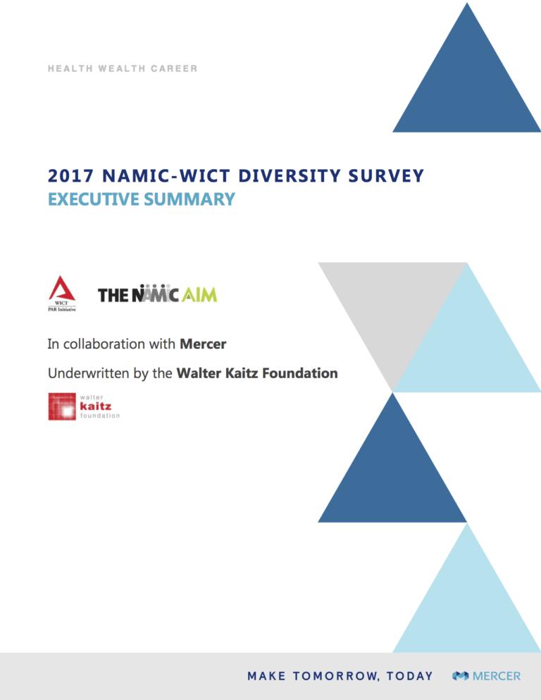 2017 Joint Workforce Diversity Survey