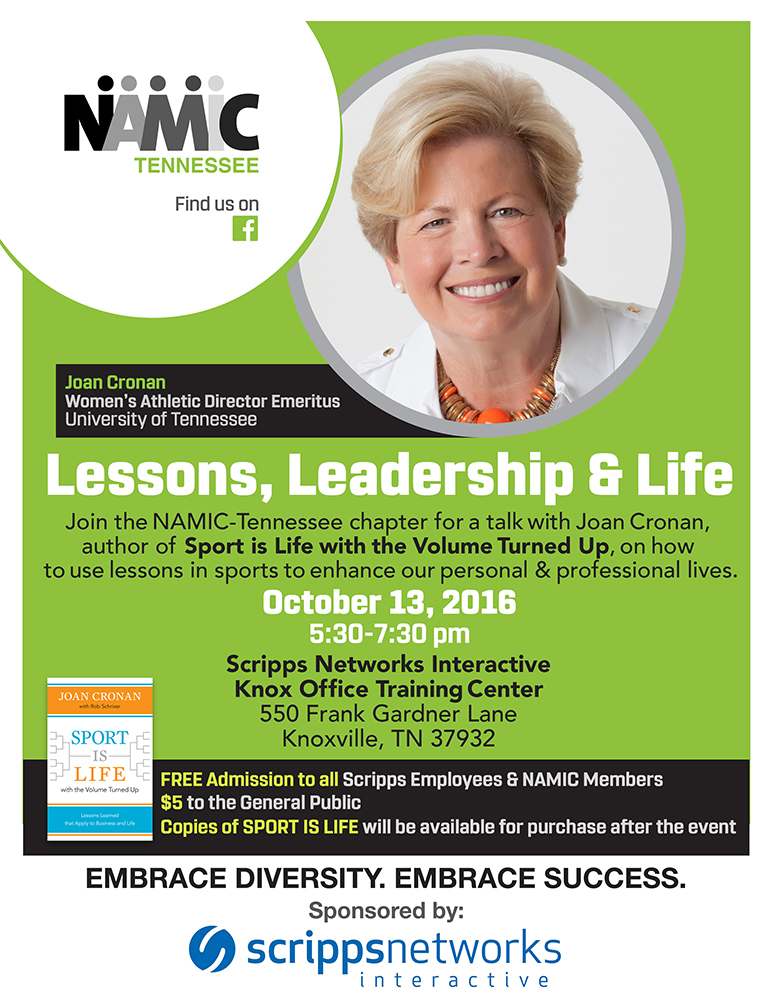 NAMIC-Tennessee: Lessons, Leadership & Life