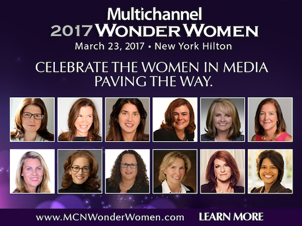2017 Multichannel News Wonder Women